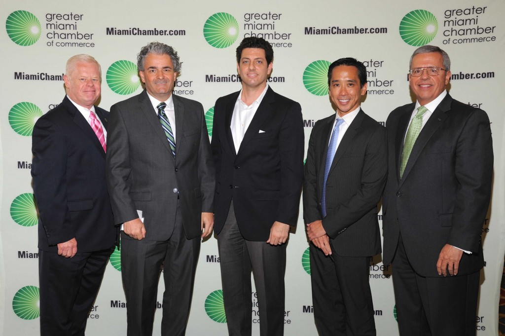 Greater Miami Chamber of Commerce Trustee Member Induction